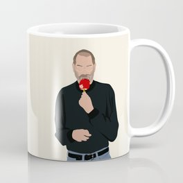 Steve Jobs Eating a Candy Apple Coffee Mug