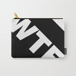 WHITE-WTF Carry-All Pouch