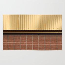 Brick and Metal Rug