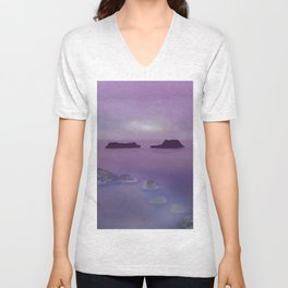 Toward the Offshore Islands Unisex V-Neck