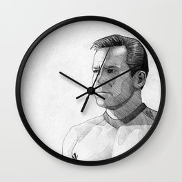 Captain James T. Kirk Wall Clock