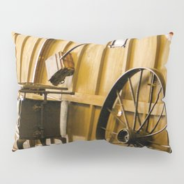 Wagon Wheel and the Olden Days Pillow Sham