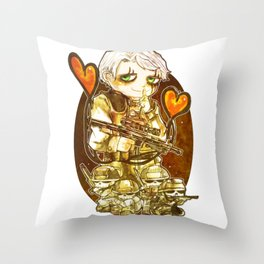 Death Stranding Mads Throw Pillow