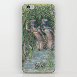 Double Blind II:  A Journey of the Senses iPhone Skin