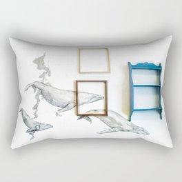 Whales Rectangular Pillow