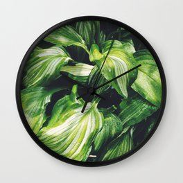 Hosta Wall Clock