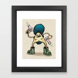 Hairdryer Framed Art Print