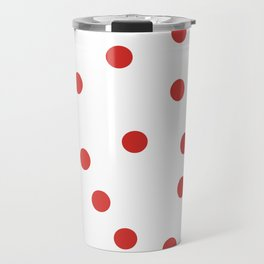 red spotted Travel Mug