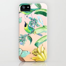 Gia in the Jungle - Pink iPhone Case