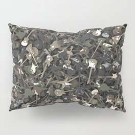 Guitar camouflage Pillow Sham