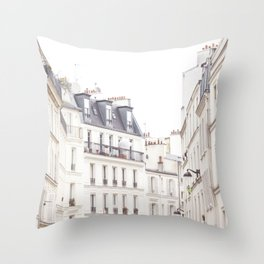 Slightly Paris Throw Pillow