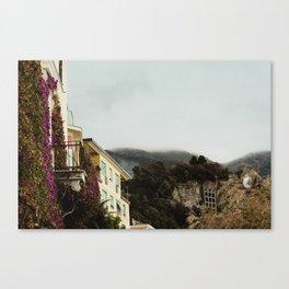 cinque terre morning Canvas Print