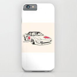 Crazy Car Art 0161 iPhone Case
