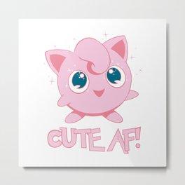 Cute AF! Metal Print