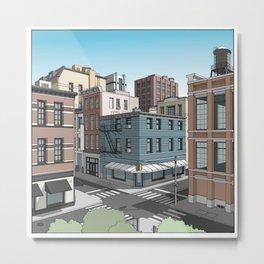 Soho NYC Metal Print