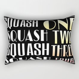 Squash One Rectangular Pillow