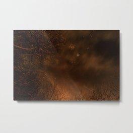 Spooky Trees - Stars Metal Print