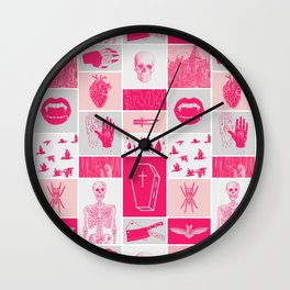 Fright Delight Wall Clock