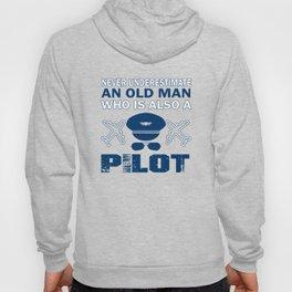 Old Man - A Pilot Hoody