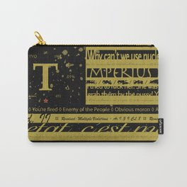 True Flag Carry-All Pouch