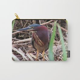 Too Cool Bird ( Green Herron) Carry-All Pouch