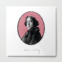 Authors - Oscar Wilde Metal Print