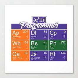 ae'm Programmer Canvas Print