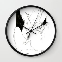 NUDEGRAFIA - 41 Wall Clock