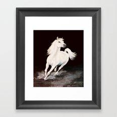 I Dreamed Him White (painting) Framed Art Print