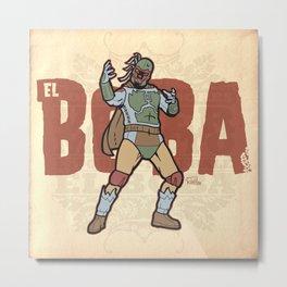 El Boba Metal Print