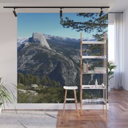 Imposing Glacier Point View Wall Mural