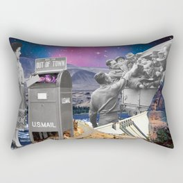 With or without you Rectangular Pillow