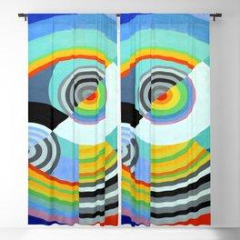 Robert Delaunay Rhythm III Blackout Curtain