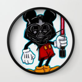 Darth Mouse Wall Clock