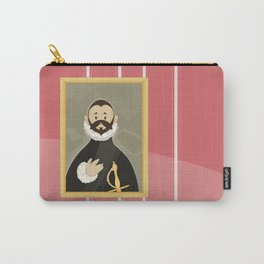 Nobleman with his Hand on his Chest by Greco Carry-All Pouch