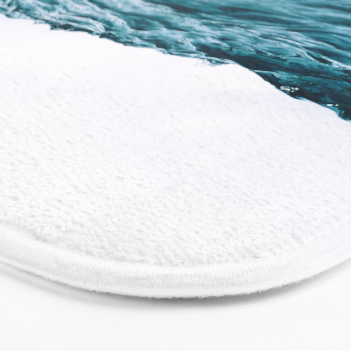Lost My Heart To The Ocean Bath Mat
