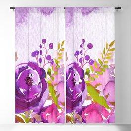 Flowers bouquet #46 Blackout Curtain