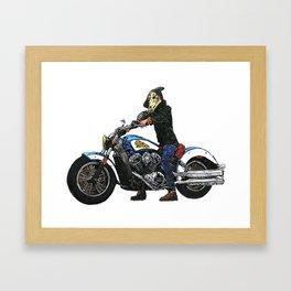 Horseman #4 Framed Art Print
