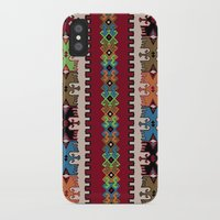 kilim iPhone & iPod Cases featuring Kilim pattern 026 by Ranka Stevic