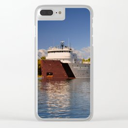 Roger Blough freighter in the Fall Clear iPhone Case