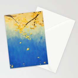 Fall Painting Stationery Cards