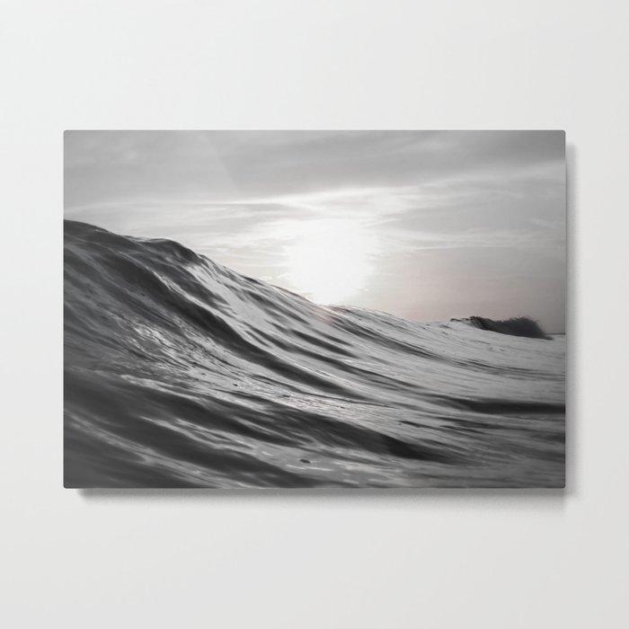 Motion of Water Metal Print