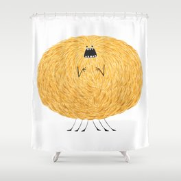 Poofy Snafiss Shower Curtain