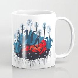 Smug red horse 3. Coffee Mug