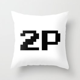 Player Two 2P Throw Pillow