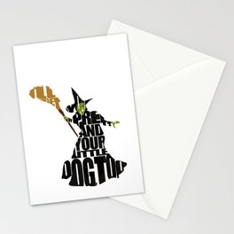 The Wicked Witch Of The West Stationery Cards
