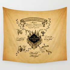 Marauders Map Wall Tapestry