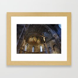 Church at the Cloisters, NYC. Framed Art Print
