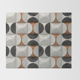 Marble game Throw Blanket