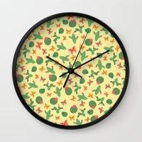 cactus Wall Clocks featuring Cactus by Kakel
